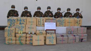 """صورة توقيف 27 تاجر مخدرات وحجز قرابة 5 قناطير """"زطلة"""" قادمة من المغرب"""
