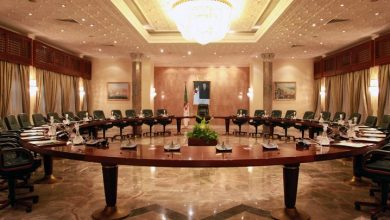 صورة جراد يترأس اجتماعا لمجلس الحكومة
