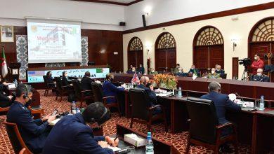 صورة الأمين العام لوزارة الدفاع يبحث سبل التعاون العسكري مع الوفد الأمريكي