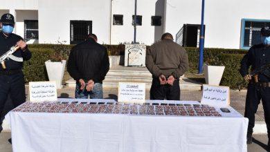 صورة أم البواقي: توقيف شبكة إجرامية وحجز 1800 قرص مهلوس