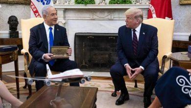 """صورة نتانياهو يزيل صورته مع ترامب من حسابه """"تويتر"""""""