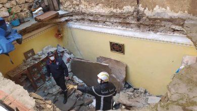 صورة وهران: إنقاذ عشرينية من انهيار مميت لسقف غرفتها بحي إبن سينا