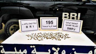 صورة ميلة: توقيف شخصين وحجز 195 قطعة نقدية أثرية تعود للحقبة النوميدية