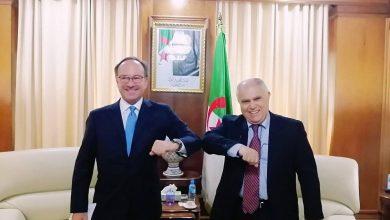 صورة عطار يدعو المؤسسات الإيطالية إلى مزيد من الإستثمار في الجزائر