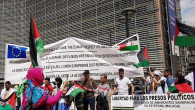 صورة بروكسل تحتضن وقفة احتجاجية منددة بتجاوزات المخزن للقانون الدولي