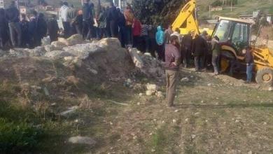 صورة برج بوعريريج: وفاة عاملين جراء انهيار للتربة في خندق للصرف الصحي