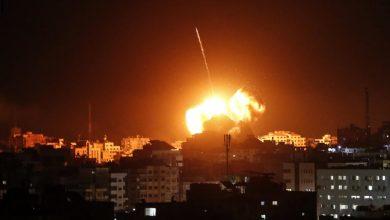 صورة مصرع 40 شخصا بغارات الكيان الصهيوني على سوريا