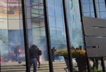 """صورة التماسات الحبس النافذ بين ال6 اشهر و4 سنوات في حق 35 مناصر لتخريبهم مبنى """"سوناطراك"""""""