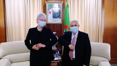 صورة عطار يتباحث مع سفيرة ألمانيا بالجزائر سبل الإستثمار بين البلدين