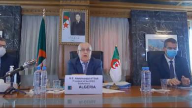 صورة عطار يترأس اجتماع مجلس وزراء منظمة الدول الإفريقية المنتجة للبترول