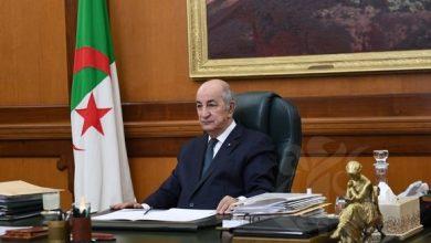 صورة الرئيس تبون يترأس الاجتماع الدوري لمجلس الوزراء اليوم