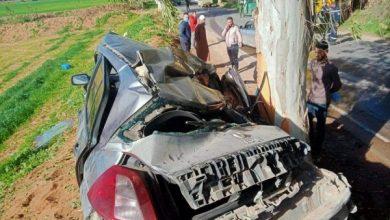 صورة مستغانم: وفاة شخص وإصابة آخر إثر حادث مرور مميت