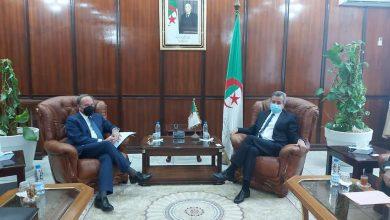 صورة وزير الصحة يستقبل سفير ايطاليا في مقر الوزارة