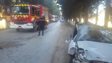 صورة 5 جرحى في حادث مرور بتيبازة