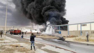 صورة إنفجار صهريج يخلف وفاة 6 أشخاص في تونس