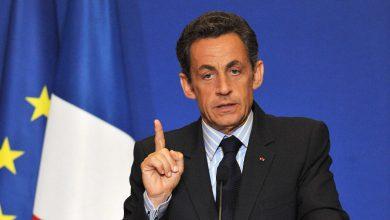 """صورة """"ساركوزي"""" يمتثل أمام المحكمة بتهمة تلقي تمويل غير قانوني"""