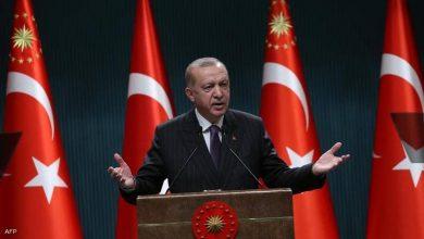 صورة أردوغـان يخـاطب العالم بخصوص فلسطين