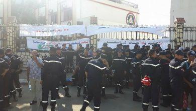 صورة الداخلية تـرد على إحتجاج أعوان الحماية المدنية