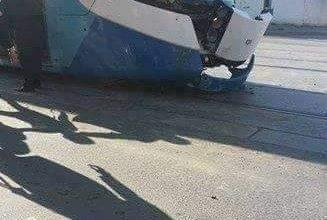 """صورة الجزائر العاصمة:شلل في حركة """"الترامواي"""""""