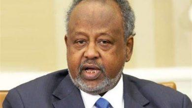 صورة إنتخاب إسماعيل عمر جيله رئيسا لجيبوتي لعهدة خامسة