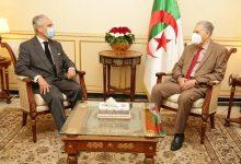 صورة رئيس مجلس الأمة يستقبل سفير البرتغال