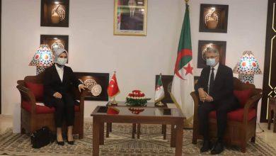 صورة تعزيز أفاق التعاون السياحي محور لقاء بوغـازي مع سفيرة تركيا لدى الجزائر