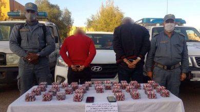 صورة الأغواط: الفرقة الجهوية لمكافحة التهريب تحجز  5040 كبسولة من الأقراص المهلوسة