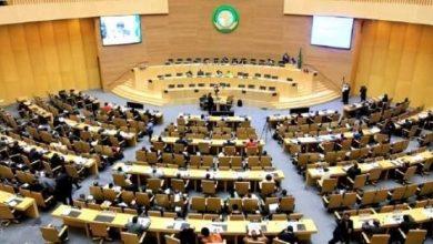 صورة إنتخاب الجزائر لرئاسةالمجموعة الجيوسياسية لشمال إفريقيا بالبرلمان الأفريقي