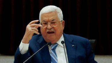 صورة الرئيس الفلسطيني يحمل الإحتلال مسؤولية ما يحدث في القدس