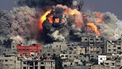 صورة العدوان الصهيوني على غزة.. 209 شهداء و5600 جريـح
