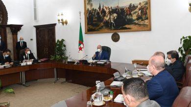صورة أهم قرارات إجتماع مجلس الوزراء