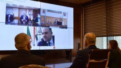 صورة عقـد أول إجتمـاع بين غرفتي التجارة والصناعة الجزائرية ونظيرتها في لبنان