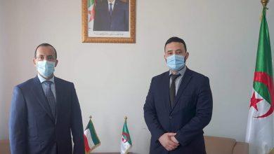 صورة بعث التعاون في مجال المؤسسات المصغرة محور لقاء ضيافات مع سفير الكويت بالجزائر
