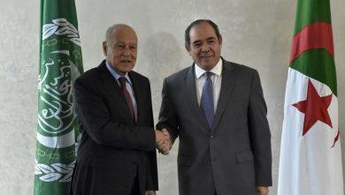 صورة بوقدوم يشـارك في إجتماع وزراء الخارجية العرب حول القـدس