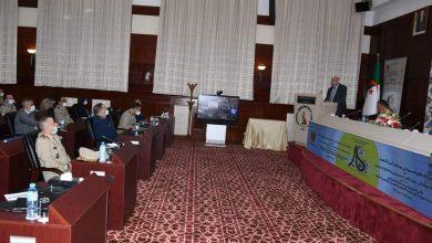 صورة قايدي يؤكد على ضرورة وضع السبل الكفيلة بالتحكم في مجال الأمن والدفاع السيبراني