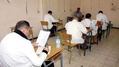 صورة أزيد من 4000 محبوس يجتازون إمتحانات البيام