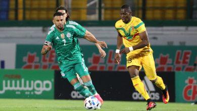 صورة الخضر يواصلون سلسلة الإنتصارات بعد فوزهم على مالي