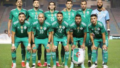 صورة الخضر يسجلون رقما عالميا بعد الفوز على تونس