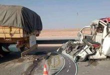 صورة الأغواط: وفاة شخصين في حادث مرور بليل حاسي الرمل