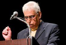 صورة وفاة الشاعر والمترجم العراقي سعدي يوسف