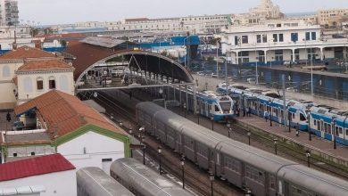 """صورة عمال """"القطارات"""" في إضراب وطني مفتوح"""