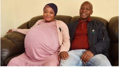 صورة جنوب إفريقيا: إمراة تنجب 10 أولاد دفعة واحدة
