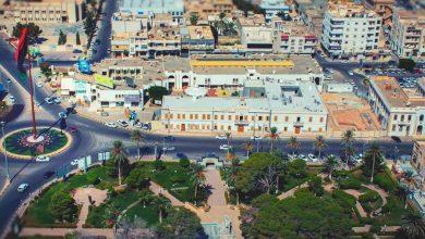 صورة إفتتاح أول سوق للمنتجات الجزائرية بمصراتة الليبية
