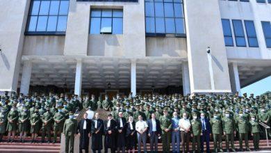 صورة 186 ضابطا من الدرك الوطني يؤدون اليمين الدستورية بمجلس قضاء الجزائر