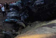 صورة الدرك الوطني: 18 قتيلا و11 جريحا في حادث مرور بين جيجل وقسنطينة