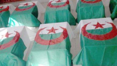 صورة بسكرة: إعادة دفن رفات شهداء ثورة الزعاطشة