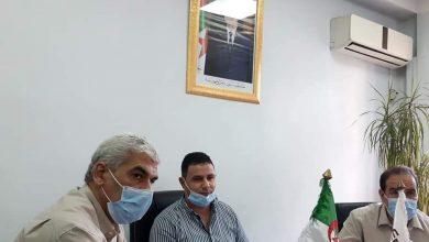 صورة المدير العام لمؤسسة الترقية العقارية يجتمع بالمدراء الجهويين