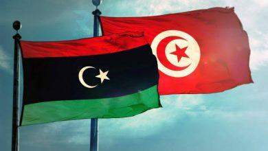 صورة إعادة فتح الحدود بين ليبيا وتونس