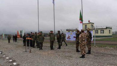 """صورة تمرين """"تكتيكي"""" مشترك بين الجزائر و روسيا"""