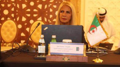 صورة انتخاب سعيدة نغزة عضوا في لجنة الحريات النقابية بمنظمة العمل الدولية
